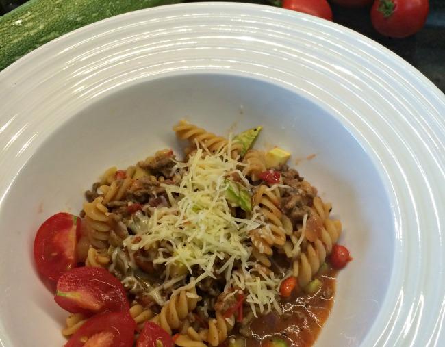 Yhden pannun (jauheliha)pasta